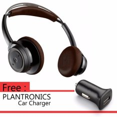Beli Plantronics Bluetooth Headphone Backbeat Sense Black Espresso Kredit Indonesia