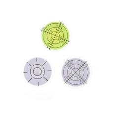 Plastik Bubble Level Round Tingkat Aksesoris Gelembung untuk Alat Ukur-Internasional