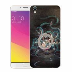 Plastik Hard Back Phone Case untuk HTC Desire 516/316 (Multicolor)
