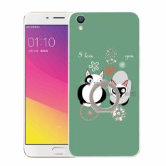 Plastik Hard Back Phone Case untuk HTC Desire 601 (Multicolor)