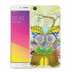 Plastik Hard Back Phone Case untuk HTC Desire SV/T326e (Multicolor)