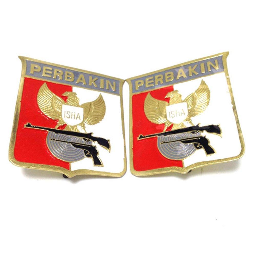 Jual Plat Nomor Emblem Perbakin Untuk Mobil Armor Military Di Dki Jakarta