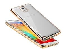Plating Rubber Lembut TPU untuk Samsung Galaxy Note 3/ N9008V/N9005/N9006/N900
