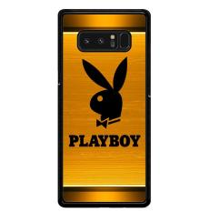 Harga Playboy Logo Gold R0201 Samsung Galaxy Note 8 Custom Hard Case Termahal