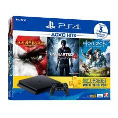 Playstation4 / PS4 Slim 500GB CUH2106 (HITS 2017 Bundle 3 Game)