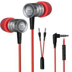 Beli Plextone Populer Olahraga Stereo Bass Earphone Dengan Mic In Ear Headphone Gaming Headset Kebisingan Membatalkan G10 Merah Intl Online Murah