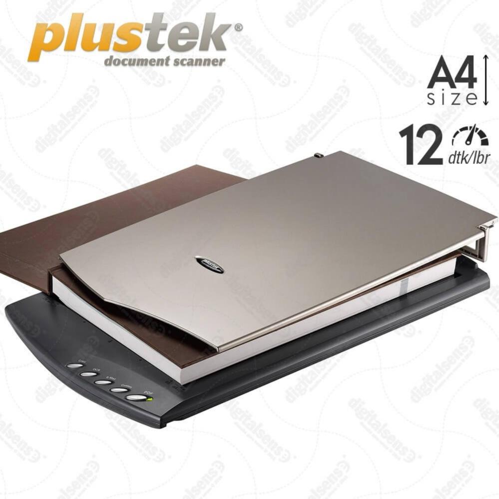 Beli Plustek Scanner Flatbed 2610 A4 Letter 12 Dtk Lbr Murah