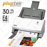 Jual Plustek Scanner Otomatis Adf Ps396 Folio F4 30 Lbr Menit