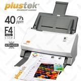 Jual Plustek Scanner Otomatis Adf Ps406U Folio F4 40 Lbr Menit Di Bawah Harga