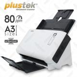 Jual Plustek Scanner Otomatis Adf Sc8016U A3 80 Lbr Menit Di Dki Jakarta
