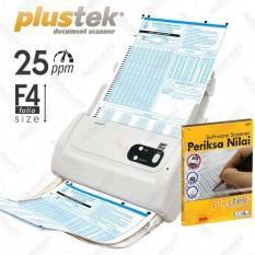 Diskon Plustek Scanner Periksa Nilai Ljk 25 Lbr Mnt Ps283 With Software Plustek