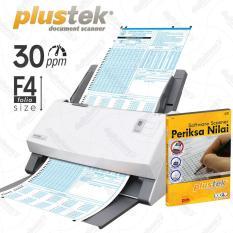Jual Plustek Scanner Periksa Nilai Ljk 30 Lembar Menit Ps396 With Software Murah