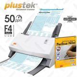 Spesifikasi Plustek Scanner Periksa Nilai Ljk 50 Lbr Mnt Ps506U With Software Paling Bagus