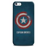 Harga Pokaku Captain America Everyday Case For Iphone 5 5S Biru Doff Yg Bagus
