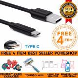 Jual Pokeshop Kabel Usb Type C Xiaomi Mi Mi4C Cable Fast Charging Gratis Tongsis Kabel Penjepit Kabel Bumper Karakter Sim Card Adapter Noosy Original