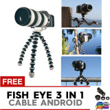 Jual Pokeshop Universal Tripod Gorilla Go Pro Flexible Free Kabel Data Android Cable Lensa Fish Eye 3 In 1 Wide Macro Antik