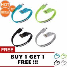 pokeshop - Usb Lightning cable for iphone cable Kabel Data Iphone Gelang Bracelet Promo beli1 gratis1 / buy1 get1