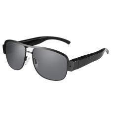 Polarized Hitam Sunglasses HD 1080 P 5MP Mini Kamera ForSportsRecording Kacamata Spy Tersembunyi Kamera Kacamata-Intl