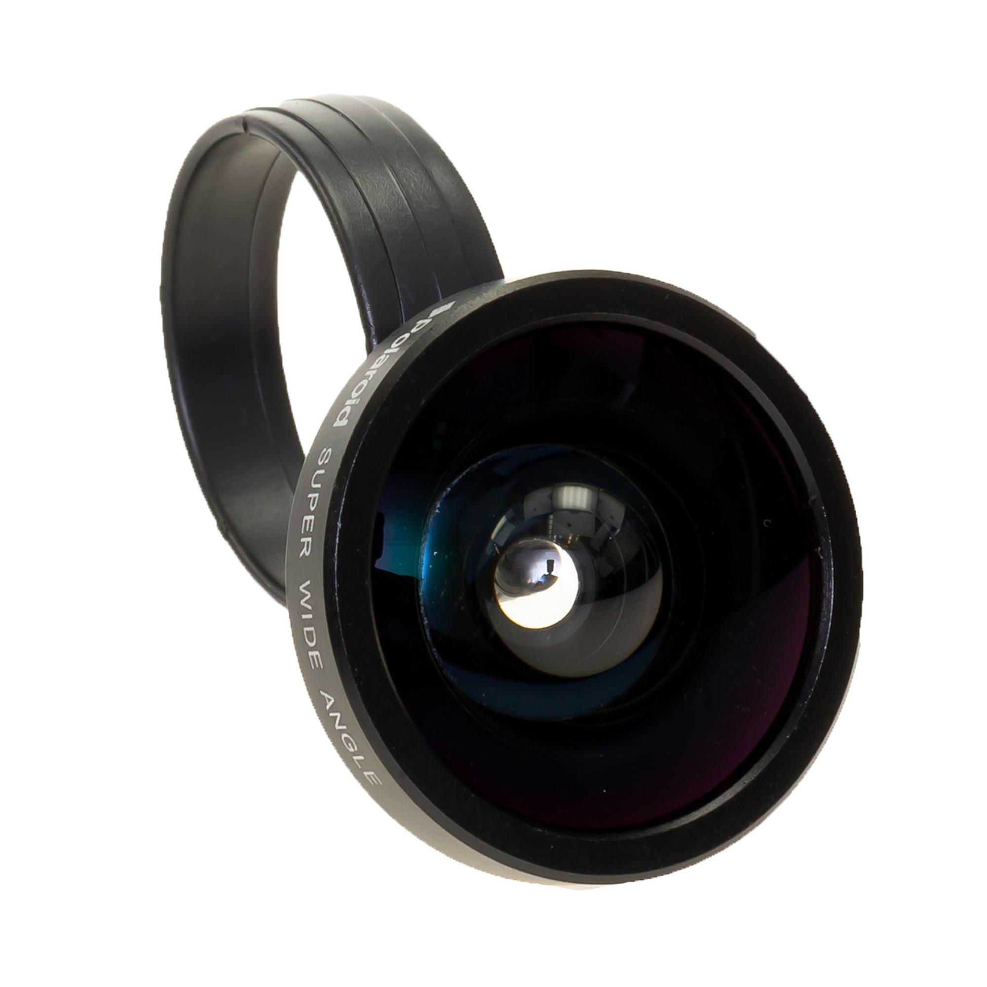 Beli Polaroid Lensa Smartphone 4X Super Wide Angle Lens Hitam Polaroid Online