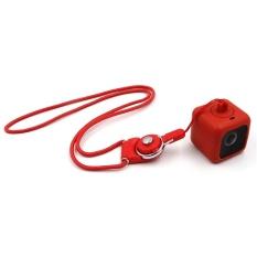 Beli Polaroid Polaroid Cube Olahraga Camera Silicone Protective Cover Safety Lanyard Rope Aksesoris Pengiriman Intl Nyicil
