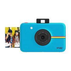 Jepretan Polaroid Instan Kamera Digital (Biru) dengan ZINK Zero Tinta Cetak Teknologi