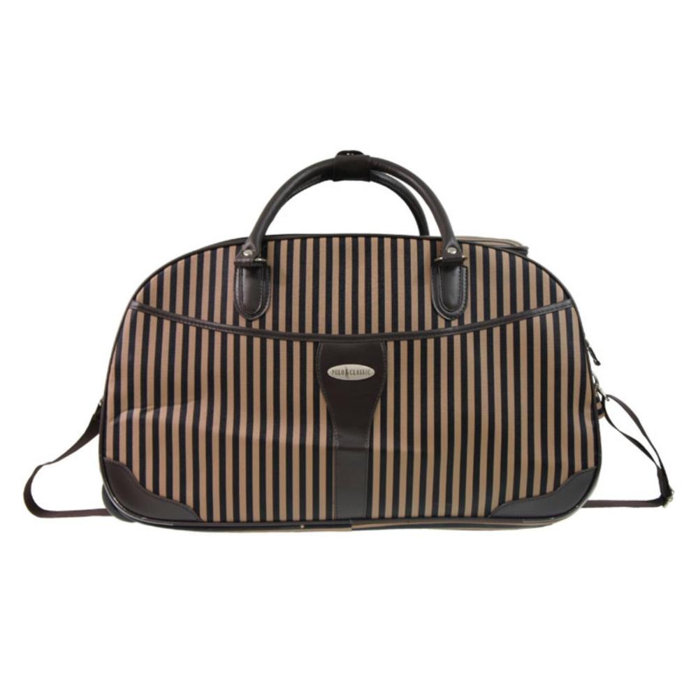 Polo Classic 2052 5 Travel Bag Trolley Coffee Gratis Pengiriman JABODETABEK Tas