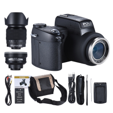 Spesifikasi Polo Sharpshots Fokus Otomatis Af 33Mp 1080 P 30Fps Fhd 8X Zoomable Digital Kamera W Standar 5X Lebar Angle 24X Telephoto Lama Lensa 3 Lcd Bulit In Senter Intl Yang Bagus