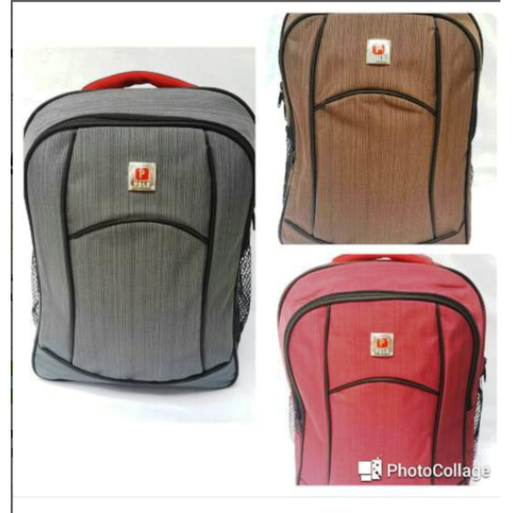 Real Polo Tas Ransel Laptopsekolah 5873 Expandable Hitam Daftar Kasual 6363 Hijau Free Bag Cover Seminar Kantor