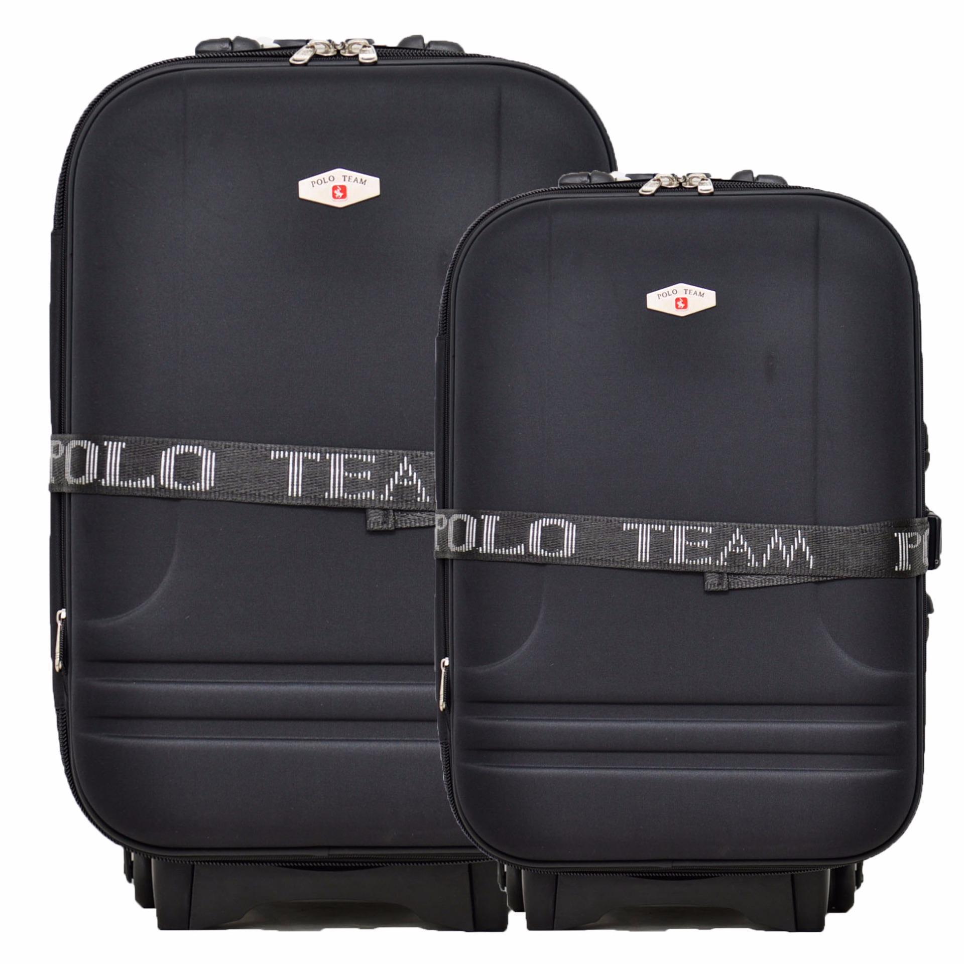 Ulasan Lengkap Polo Team Tas Koper Expander 2 Roda Set Size 24 20 Inch 931 Hitam