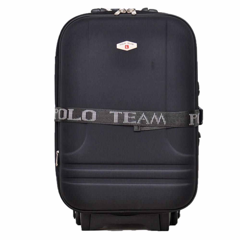 Polo Team Tas Koper Expander 2 Roda Size 24 Inch 931 Hitam Original