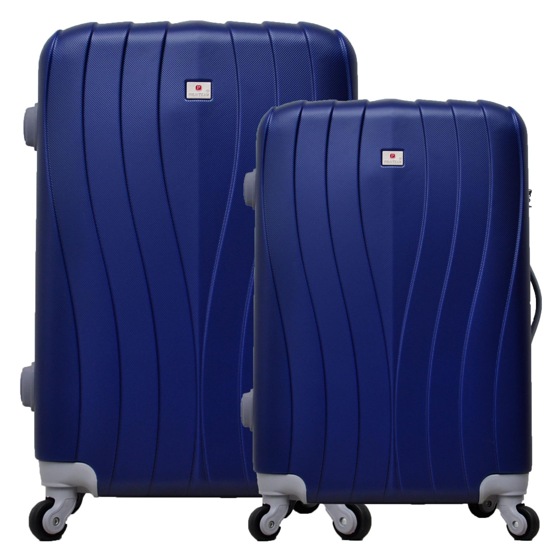 Jual Polo Team Tas Koper Hardcase Set Size 19 23 Inch 002 Biru Tua Branded Original