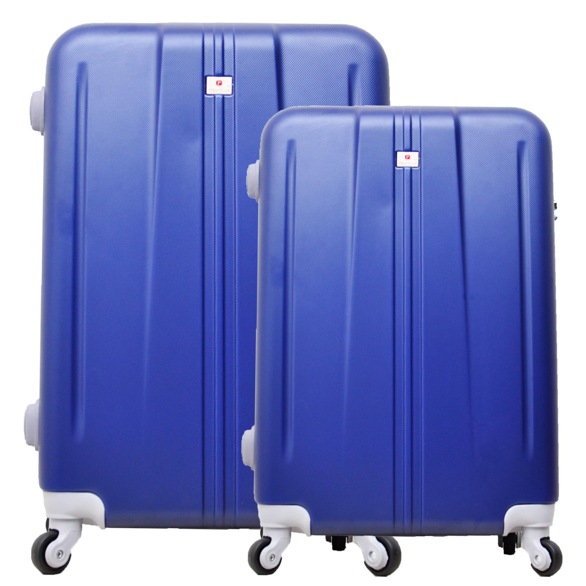 Beli Polo Team Tas Koper Hardcase Set Size 20 24 Inch 003 Biru Tua Lengkap
