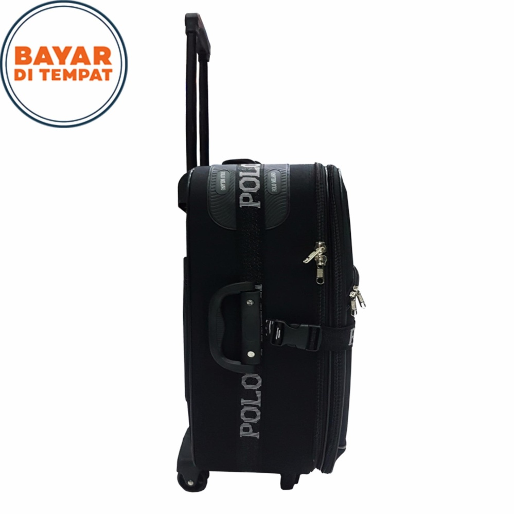 Polo Twin Koper Bahan Ukuran 20 Inchi 1301-20 Expandable Import - Black