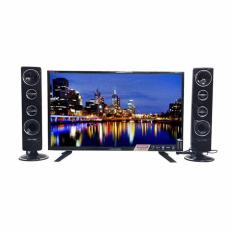 POLYTRON Cinemax LED TV w/ Tower Speaker 24 - PLD-24T8511 - Khusus JABODETABEK