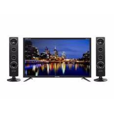 Polytron PLD24T8511 [LED 24Inch] + Speaker Set Cinemax - Hitam