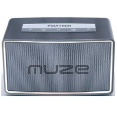 Polytron Muze PSP B1 Silver - Mini Bluetooth Speaker - Silver