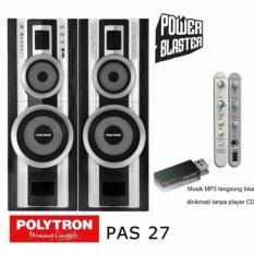 POLYTRON PAS 27 Speaker Aktif-RESMI