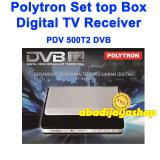 Polytron Pdv 500T2 Pdv500T2 Set Top Box Dvb T2 Tv Digital Hitam Promo Beli 1 Gratis 1