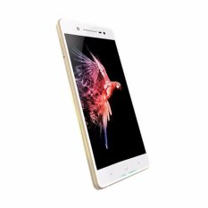 POLYTRON Smartphone PRIME 7S P520 WHITE- 5.2 Inch – RAM 3GB + ROM 64GB + Tempered Glass (Front & Black) + Soft Jelly Case