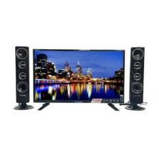 POLYTRON TV LED 24 inch - PLD24T8511 + SPEAKER TOWER