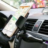 Portable 360 Derajat Universal Slot Cd Mobil Dash Phone Mount Stand Holder Untuk Iphone Untuk Samsung For Htc For Sony Carphone Bracket Di Tiongkok