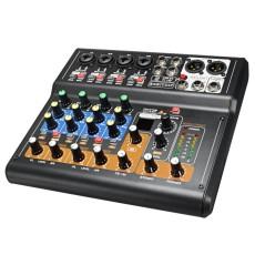 Portable 8 Channel Professional Live Studio Audio Mixer USB Mixing Console 48V - intl