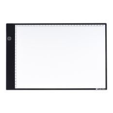 Jual Portable A4 Led Light Box Drawing Tracing Tracer Copy Board Table Pad Panel Copyboard With 3 Mode Brightness Black Edge Scale For Artist Animation Sketching Architecture Calligraphy Stenciling Intl Branded Murah