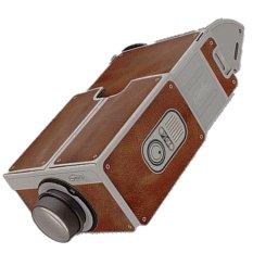 Jual Portable Cardboard Smartphone Projector 2 Cokelat Baru