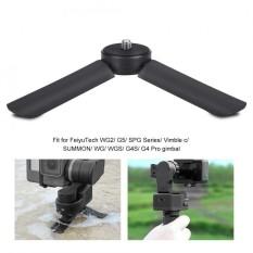 Portable Folding Camera Gimbal Tripod Fotografi Selang Waktu Stand Mount Holder dengan 1/4