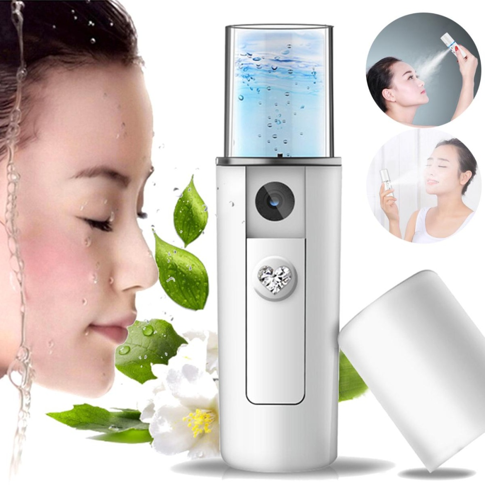 Review Portable Handy Usb Nano Mist Spray Atomization Mister Face F*c**l Moisturizing Intl Not Specified Di Tiongkok