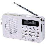Promo Portable Hifi Card Speaker Digital Multimedia Loudspeaker Fm Radio White Intl Murah