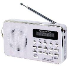 Harga Portable Hifi Card Speaker Digital Multimedia Loudspeaker Fm Radio White Intl Merk Oem