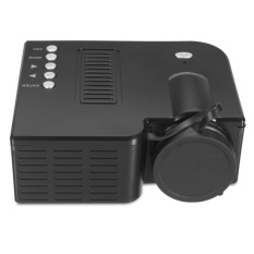Promo Portable Home Teater Bioskop Multimedia Proyektor Led Mini Usb Avhdmi Sd Dvd Hitam Intl Murah