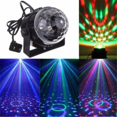 Portable LED Disco Party Magic Stage Ball Light Lampu dengan Remote Control Light-Intl